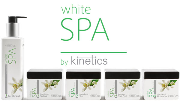 White SPA Beauty Therapy