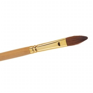 No 10 Kolinsky Sable Oval Brush