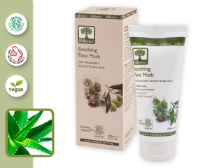 Organic Soothing and Moisturising Face Mask 100 ml
