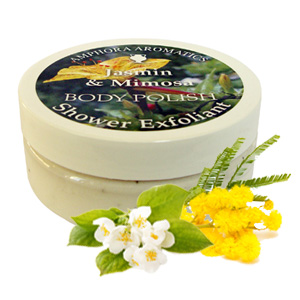 Jasmin and Mimosa Body Polish Exfoliator 200 ml