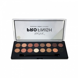 Technic Pro Finish 16 Colour Eyeshadow Palette-Toffee Edition