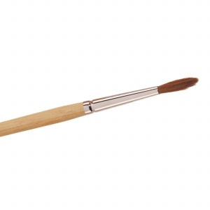 No 6 Kolinsky Sable Flat Brush