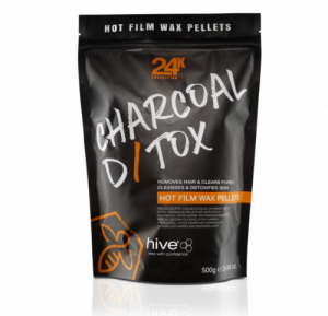 Charcoal D/TOX Hot Film Wax Pellets 500 g