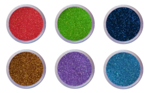Nail Art Glitter Dust Set of 6 (Set A)