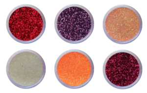 Nail Art Glitter Dust Set of 6 (Set B)