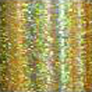 Hair Glitz Tinsels 50 cm Long - Light Gold