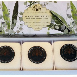 Lily of Valley - 3 x 100 g Hand Soap Gift Box