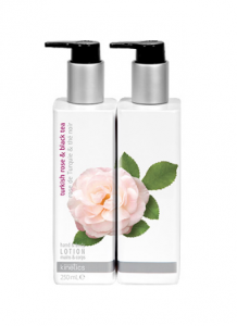 Turkish Rose and Black Tea Hand and Body Lotion 250 ml