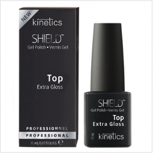 Shield Nail Gel Polish Glossy Top Coat 11 ml