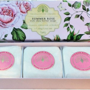 Summer Rose -  3 x 100 g Hand Soap Gift Box