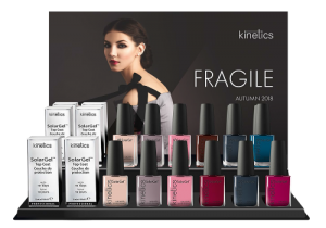 Autumn 2018 Collection Solar Nail Polish Display - Fragile