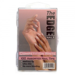 White Competition Nail Tips Box of 100