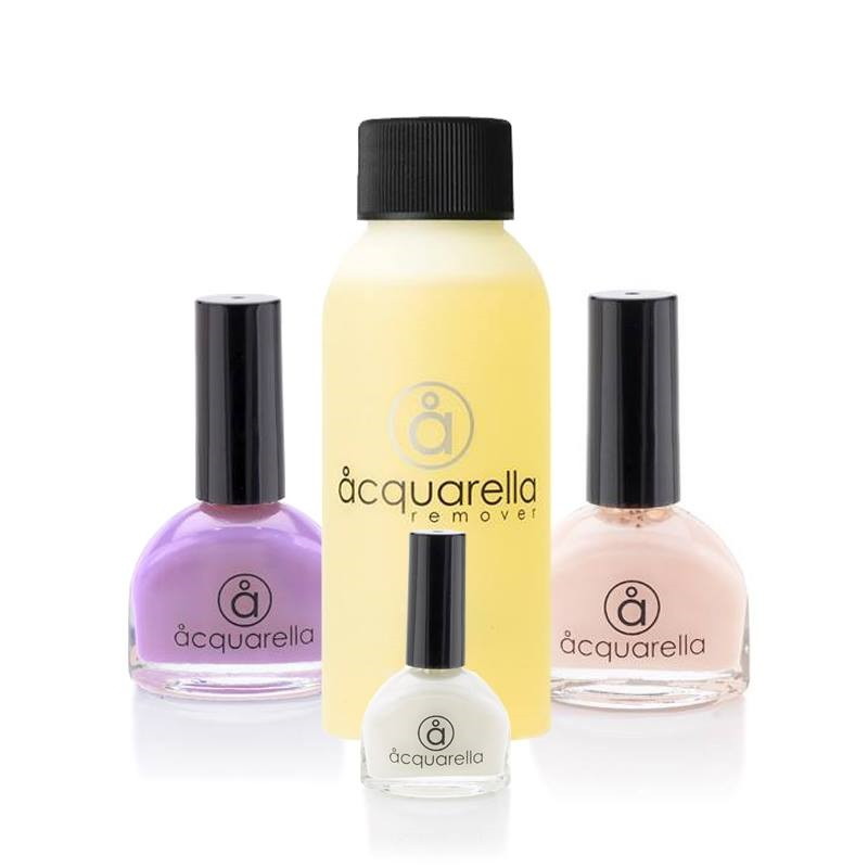 Acquarella Nail Polish French Manicure Gift Set -BeautyExpression.co.uk