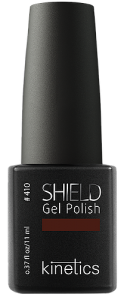 Shield Nail Gel Polish - Alluring Brown #410  11 ml