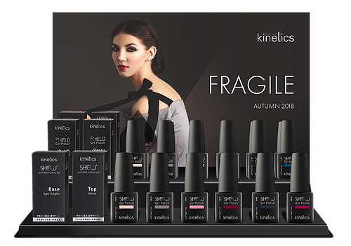 Shield Gel Polish Display Autumn 2018 Collection - Fragile