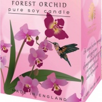 Forest Orchid Pure Soy Wax Candle 170 g