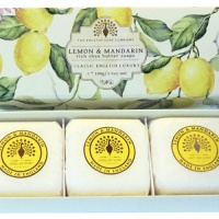 Lemon and Mandarin - 3 x 100 g Hand Soap Gift Box