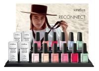Solar Nail Polish Display Spring 2019 Collection - Reconnect