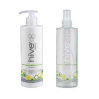 Coconut and Lime Pre and After Wax Treatment Set