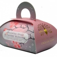Oriental Spice and Cherry Blossom Bath Soap 100 g